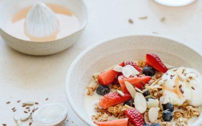 Bewegen en ontbijten